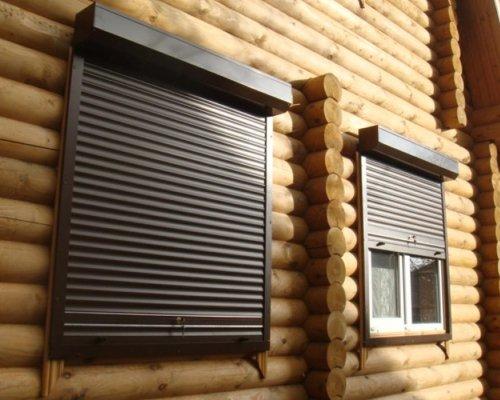 Рольставни на окна частных домов и дач