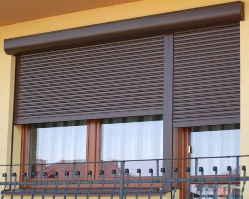 Рольставни для балконов и террас